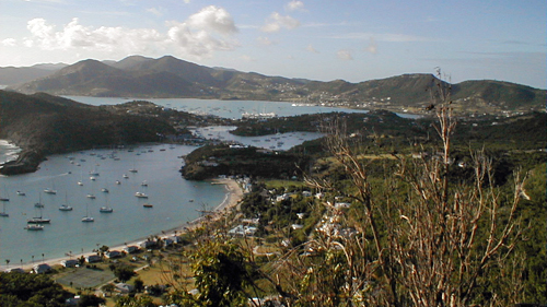 Antigua's English Harbour and Falmouth Harbour