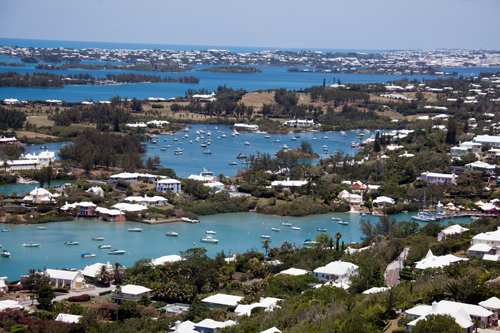 Bermuda View from Gibbs Lighthouse