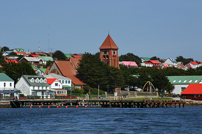 Falkland Islands: Town of Stanley