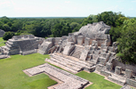 Edzna Archaeological Site, Campeche, mexico