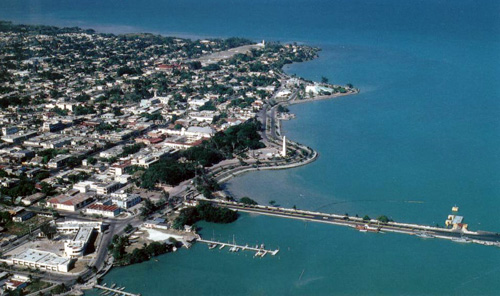 Chetumal on the Belize-Mexico Border