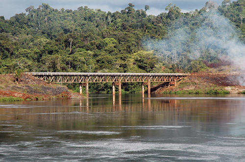 Suriname: Brokopondo Railway Bridge