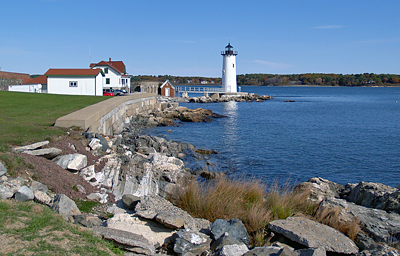 New Hampshire: Coast and Lighthouse