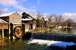 Old Mill in Pigeon Forge in Tennessee